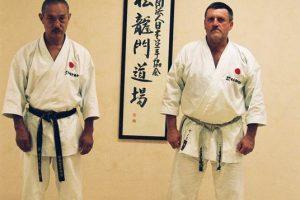 Tanaka Masahiko, Krepsz János - Shōryūmon Dōjō Shinza előtt