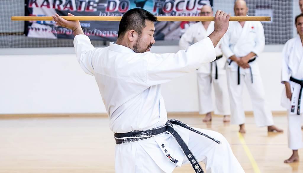 Kurihara Kazuaki - Jitte demonstráció
